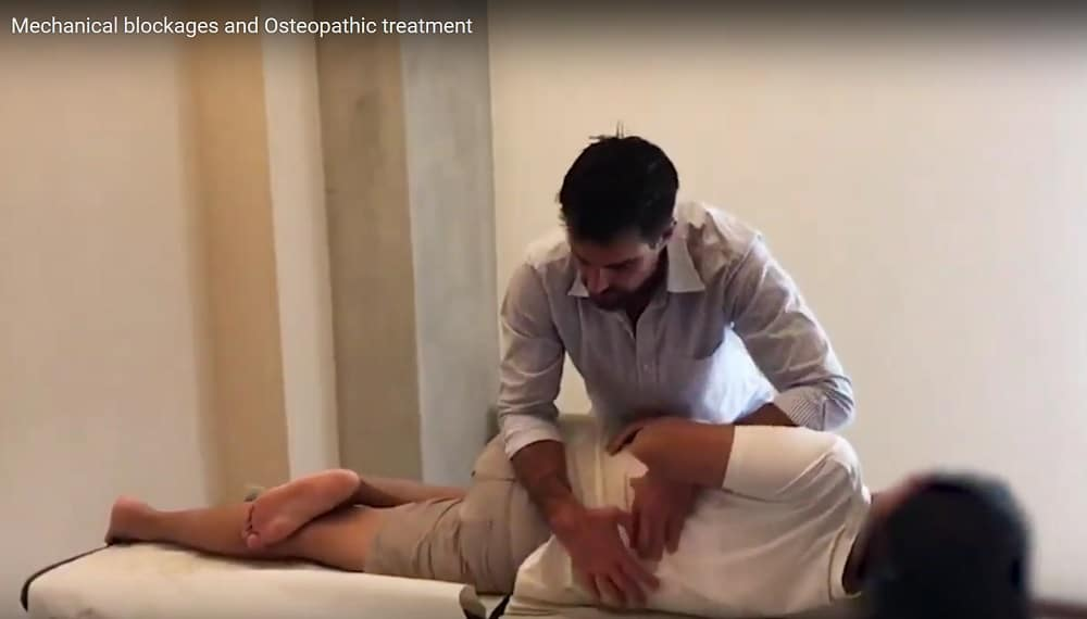 Mechanical blockages and Osteopathic treatment